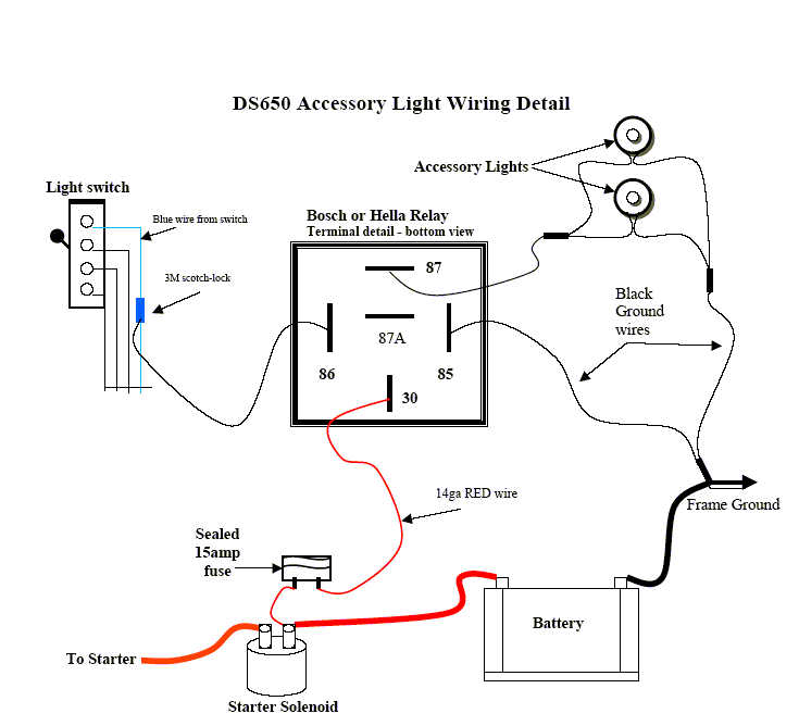 DSLightWiring Accessory Wiring Diagram on